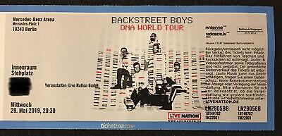 1x Backstreet Boys DNA World Tour Ticket BERLIN Stehplatz INNENRAUM
