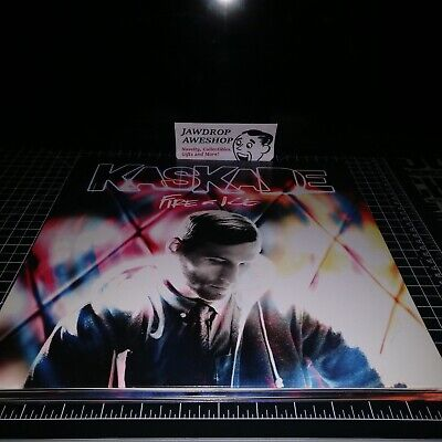 "Kaskade Fire And Ice Vinyl 12"" Lp (Used Good Condition, Minor Wear+Scratches)"