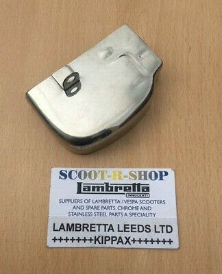 Vespa Px Selector Box Cover. Stainless Steel. Px Lml - Brand New.