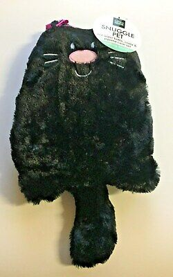 Gifted Home: Snuggle Pet Hot Water Bottle, Cover & Pyjama Case Set - Cat