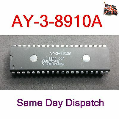 AY-3-8910A Programmable Sound Generator IC DIP40 Microchip