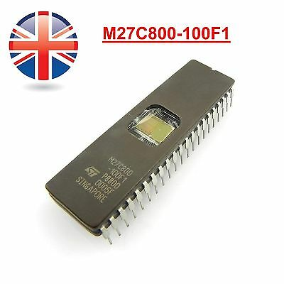 M27C800-100F1 M27C800 27C800 EPROM 8MBit 100ns DIP-42 ST BRAND NEW UK STOCK