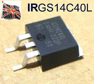 IRGS14C40L Ignition IGBT Replace 14CL40 BTS2140-1B GS14C40L TO-263 UK stock
