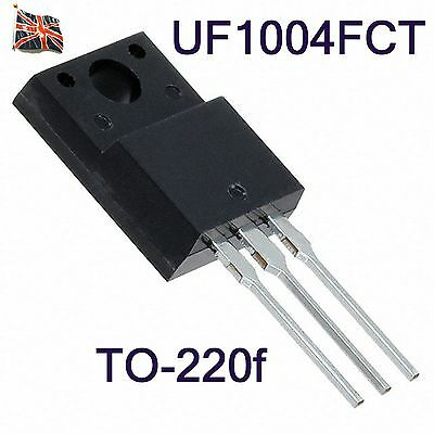 PEC UF1004FCT 10A ISOLATION ULTRAFAST GLASS PASSIVATED RECTIFIER TO-220f