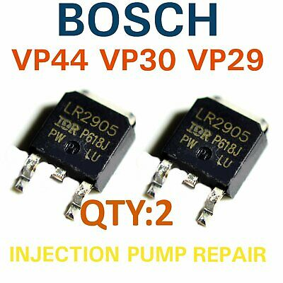 2  x IRLR2905 Mosfet Bosch Injection pump repair VP44 VP30 VP29 Audi BMW Ford