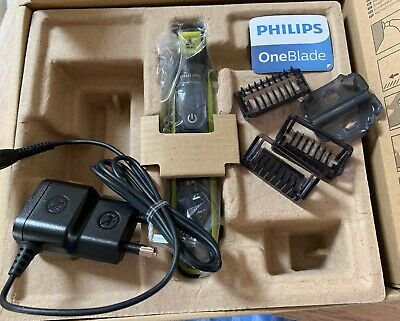 Philips OneBlade Hybrid Trimmer & Shaver with 3 x Lengths Used Once