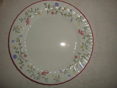 """Johnson Brothers China ~ Summer Chintz ~ Dinner Plate 10.5"""" LOT OF 2"""