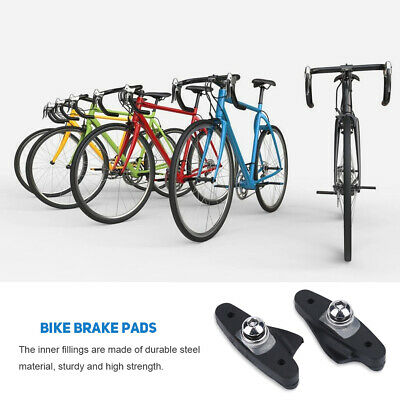 1 Pair Rubber Brake Pads Linings for Road Fixed Gear Bikes Bicycle Accessory Hot