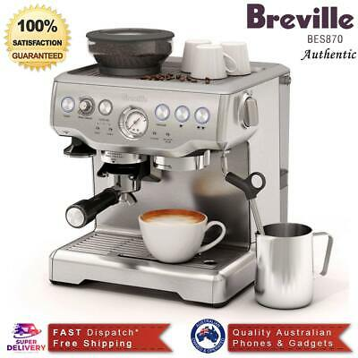 New Breville The Barista Express Coffee Machine - BES870 (AU Stock) Free Post