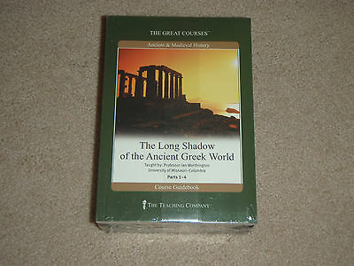 Teaching Co Great Courses The Long Shadow of the Ancient Greek World NEW DVD