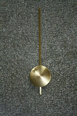 Large 235mm Brass Clock Pendulum for parts/spares/ repairs