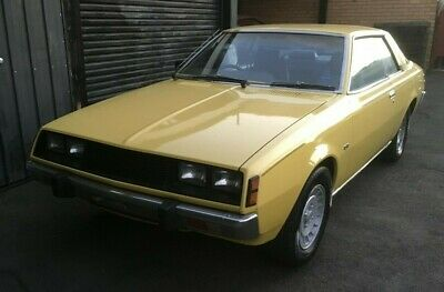 Chrysler Mitsubishi Sigma Scorpion 1979 GH Coupe