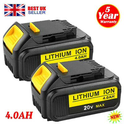 2x 4.0Ah 18V Volt XR Slide Li-ion Battery for Dewalt DCD785 DCB184 DCB182 DCF885
