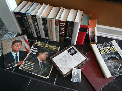 19 President John F Kennedy Jfk Rfk Edward American History First Edition Books