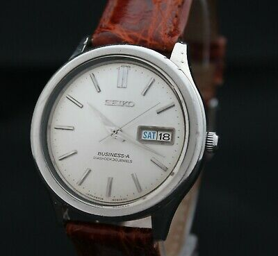 Vintage Seiko Business A 8306-9030 30 Jewels watch. Dates from January 1967.