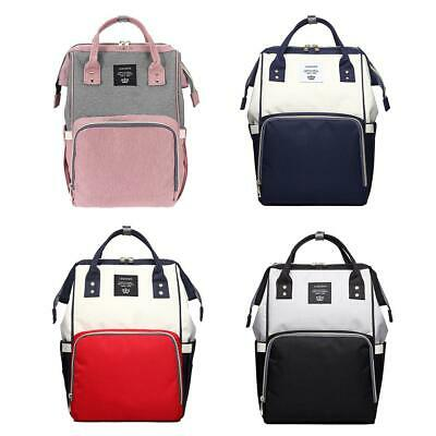 Multi-use Large Mummy Baby Diaper Nappy Backpack Bag Changing Travel Backpack UK