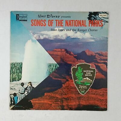 WALT DISNEY Songs Of The National Parks WDL1005 LP Vinyl VG+ near ++ Cover Fair