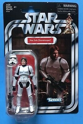 """Star Wars Han Solo Stormtrooper Vintage Collection 3.75"""" Target Excl In Hand!!"""