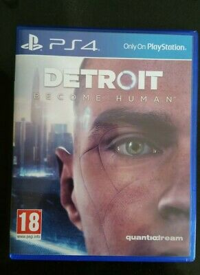 Detroit: Become Human PS4 PlayStation 4 video game complete Quantic dream