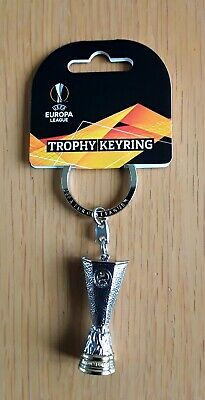 2019 Arsenal v Chelsea OFFICIAL UEFA EUROPA CUP TROPHY KEYRING - BRAND NEW