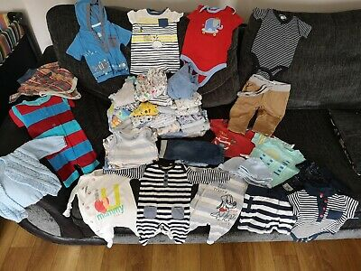 Job Lot Baby Boy Clothes First Size- 6 Months NEXT DISNEY MOTHERCARE AND MORE