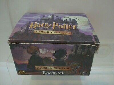 SEALED pkts Box Of Harry Potter Trading Card Game Booster Cards. Box of 36