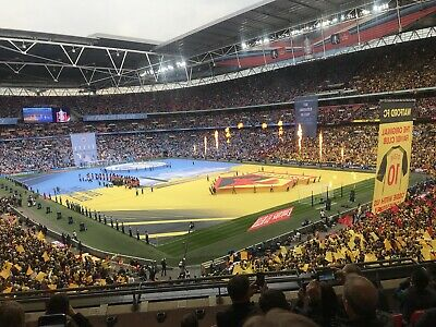 FA CUP FINAL PROGRAMME & Ticket 2019 Manchester City v Watford @ Wembley