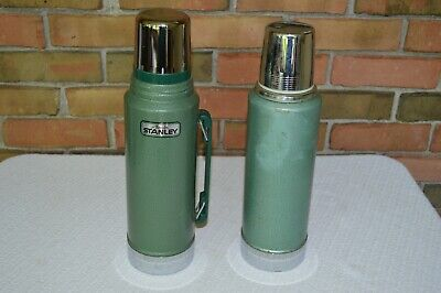 Lot of 2 VTG Stanley Thermos A-944 DH & A-944B Both in Good Condition