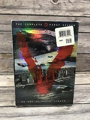 V: The Complete First Season 1 (DVD, 2010, 3-Disc Set) Sci-Fi TV Show NEW Sealed