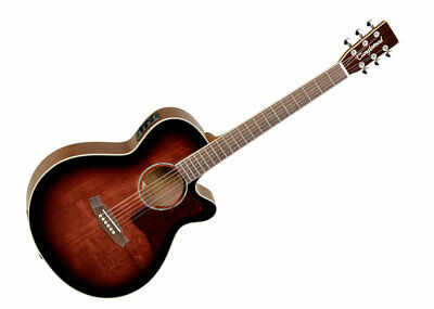 Tanglewood Super Folk Acoustic Guitar -Antique Violin Gloss/Techwood GENTLY USED
