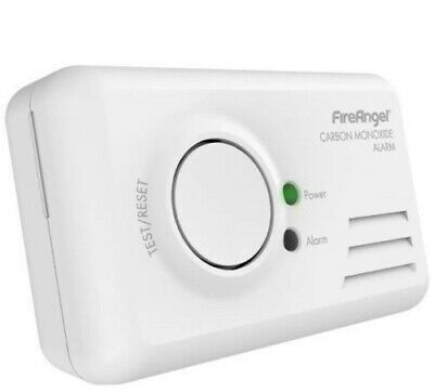 Carbon Monoxide House Home Safety Detector Alarm Fireangel CO-9BQ Basic LED