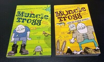 Lot of 2: Muncle Trogg Paperbacks by Janet Foxley: Muncle Trogg + Flying Donkey