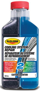 Rislone 2 part COOLING SYSTEM REPAIR - Reduces temperature and overheating Fast!