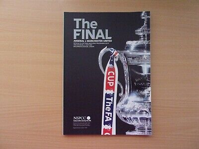 Arsenal Vs. Manchester United. 2005 F.a. Cup Final. Mint Condition Programme.