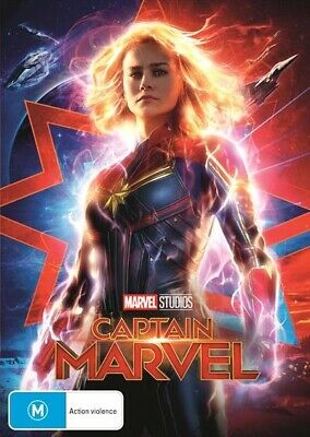 Captain Marvel (DVD, 2019) (Region 4) New Release