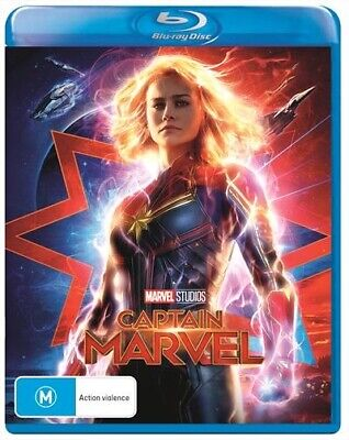 Captain Marvel (Blu-ray, 2019) (Region B) New Release