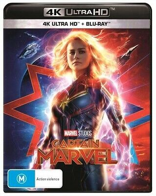 Captain Marvel (4K Ultra HD/ Blu-Ray, 2019) (Region B) New Release