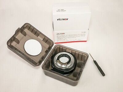 Viltrox EF-M2 Electronic Adapter F Booster 0.71x for Canon to M43