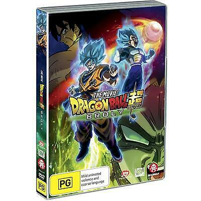 Dragon Ball Super - The Movie - Broly (DVD, 2019) (Region 4) New Release