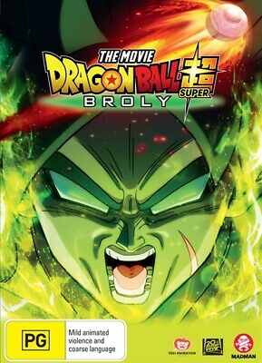 Dragon Ball Super -The Movie - Broly (Sp Cover)(DVD, 2019)(Region 4) New Release