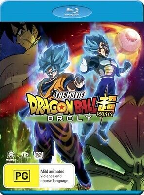 Dragon Ball Super -The Movie - Broly (Blu-ray, 2019) (Region B) New Release