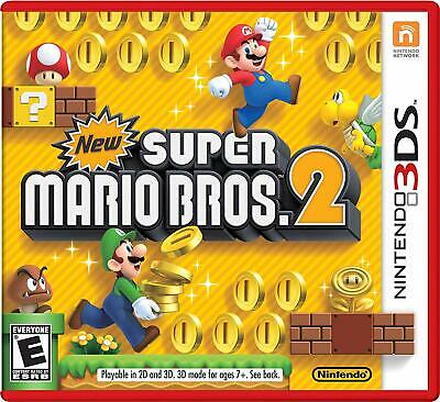 Super Mario Bros. 2 (Nintendo 3DS, 2012)