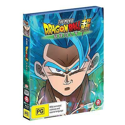 Dragon Ball Super -The Movie - Broly (Sp Cover) (Blu-ray, 2019) (Region B) New