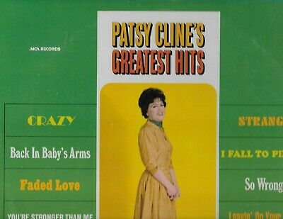 "PATSY CLINE on  LP "" GREATEST HITS "" country"