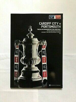 FA CUP FINAL OFFICIAL PROGRAMME - PORTSMOUTH v CARDIFF CITY 2008