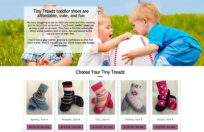 Baby Shoes Internet Business - Established Business Including Stock