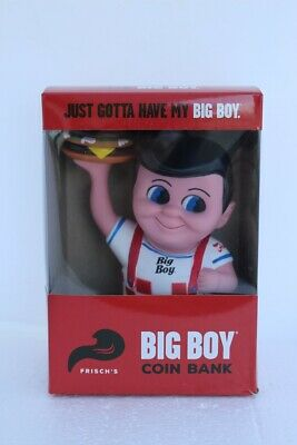 New in Box Collectible Frisch/'s Restaurants Big Boy Coin Bank with Hamburger