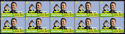 Gabriele Rossetti Mens Skeet Shooting 2016 Rio Olympics Gold Medal Stamps