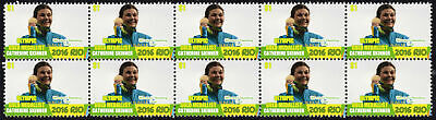 Catherine Skinner Womens Trap Shooting 2016 Rio Olympics Gold Medal Stamps