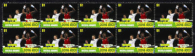 Nicola Adams Womens Flyweight Boxing 2016 Rio Olympics Gold Medal Stamps